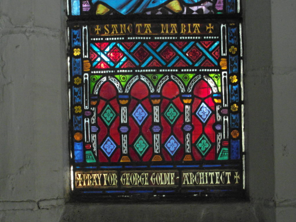 Stained-Glass Window, South Presentation Convent