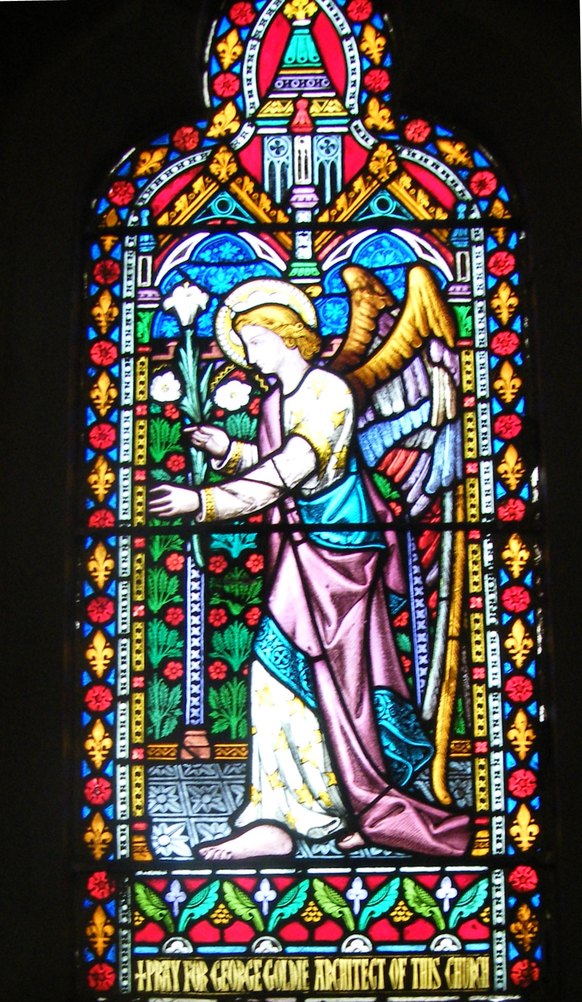 Stained Glass Window by Wailes