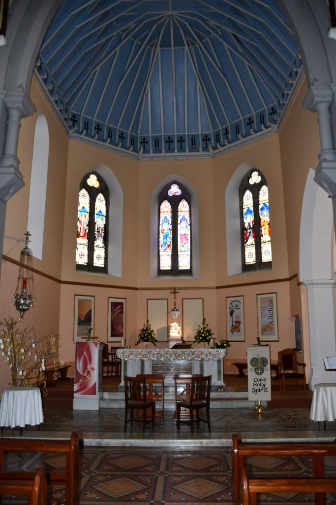 Ballymote, Interior View, Towards Altar.