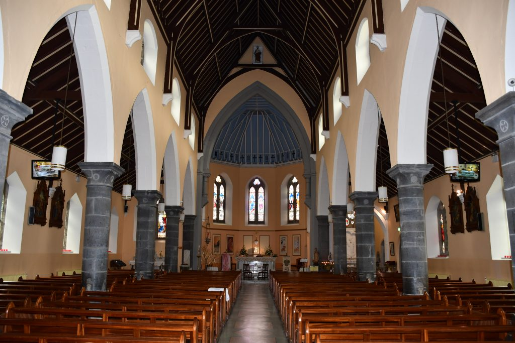 Ballymote, Interior View, Towards Altar