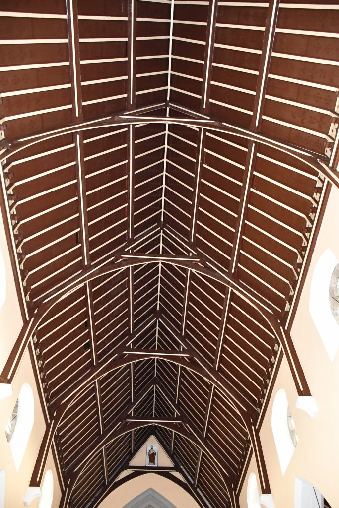 Ballymote, Roof, Interior View.