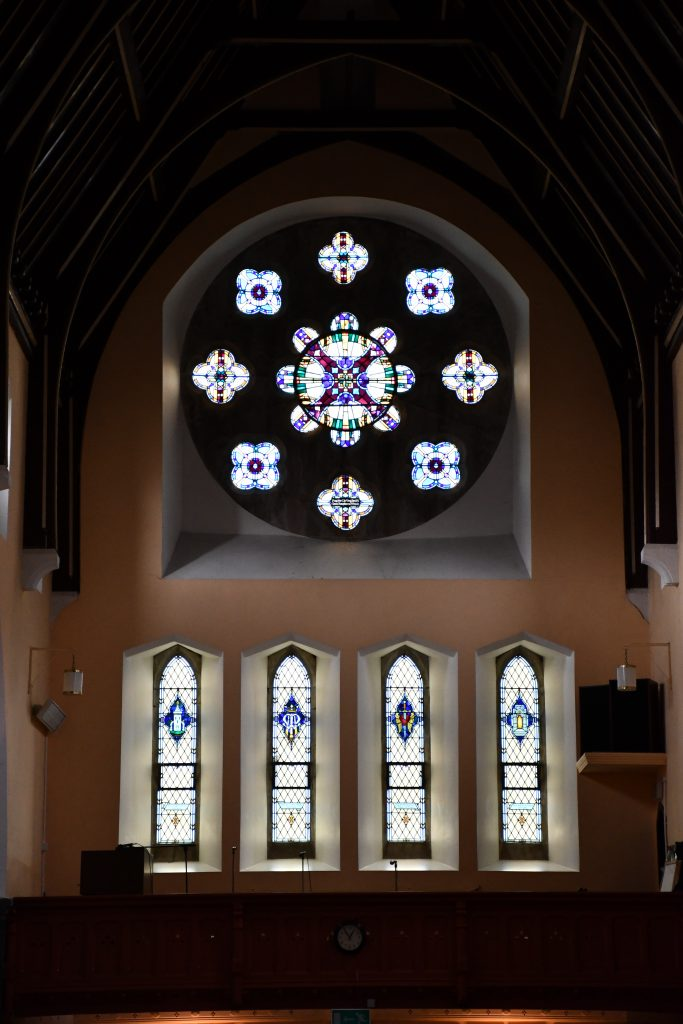 Ballymote, Rose Window.