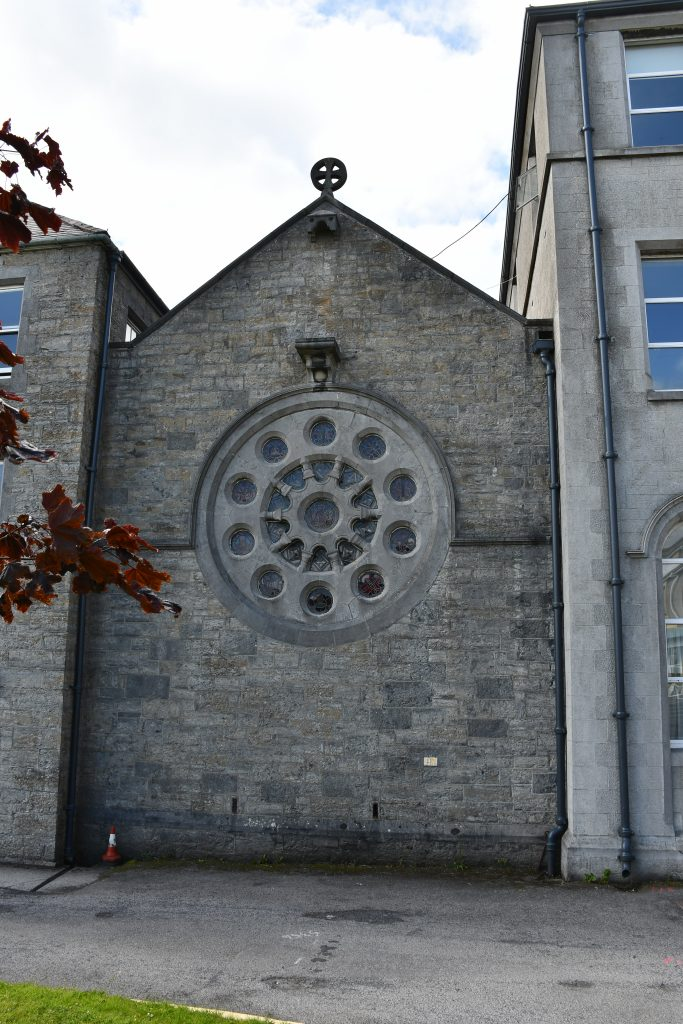 Exterior View of Rose Window